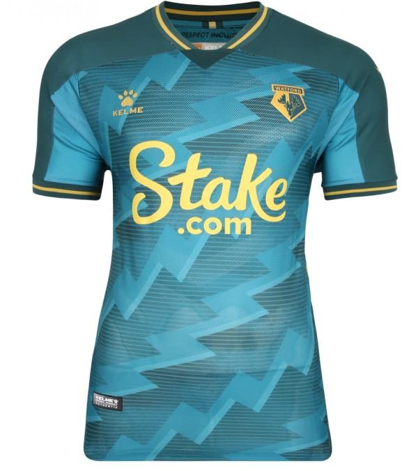 Green Watford Third Shirt 2021-22