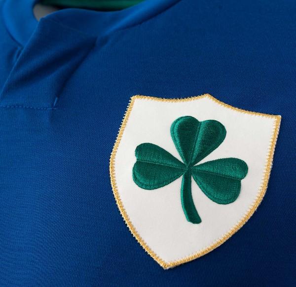 Ireland Football Centenary Shirt 2021 Badge