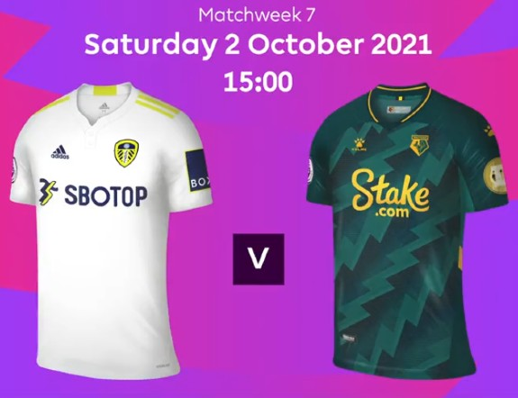 Leeds vs Watford 2021