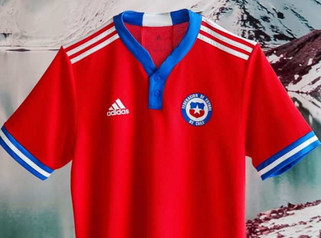 New Chile Football Top 21-22 Adidas