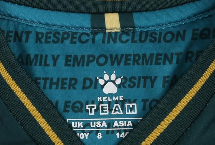 Words Inside Collar of Watford Third Jersey 2021 2022